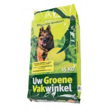 Adult Geperste Hondenbrok 15kg (Uw Groene Vakwinkel)